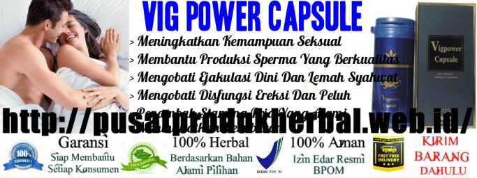 Vig Power Capsule Dosage